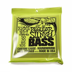 Ernie Ball 2832 Regular Slinky Round Wound Electric Bass Strings
