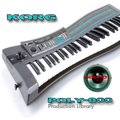 from KORG Poly-800 - the very Best of - Large unique Wave/Kontakt Studio samples/loops Library