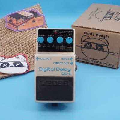 "Boss DD-3 Digital Delay   Rare 1989 ""Long Chip"" (Made in Japan)   Fast Shipping!"