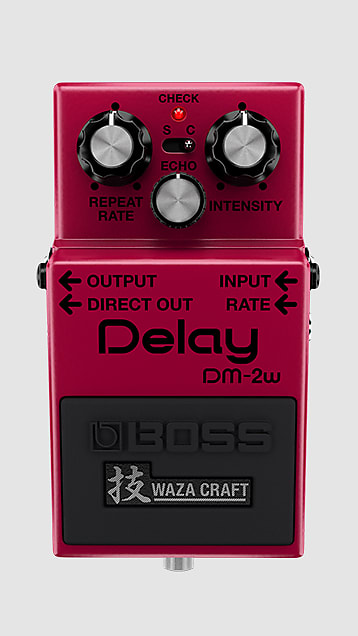 Boss DM-2W Waza Craft Delay Pedal *Free Shipping in the USA*
