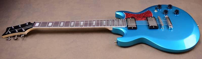 Ibanez Ax120 Electric Guitar Metallic Light Blue Finish Reverb