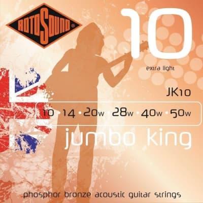 Rotosound JK10 Jumbo King Electric, Extra Light, 10-50 for sale