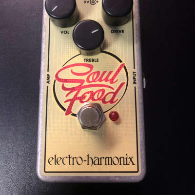 Electro-Harmonix Soul Food Overdrive Stomp Box Pedal