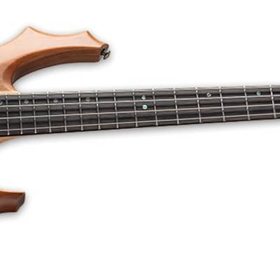 LTD F-4E Mahogany 4-String Electric Bass - Natural Stain for sale