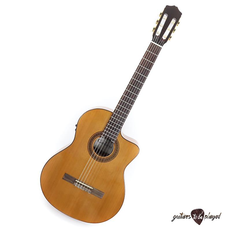 The Best Cordoba C5-ce Cutaway Acoustic Electric Classical Guitar Nylon Strings C5 Ce Guitars & Basses
