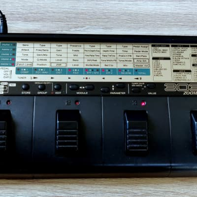 Zoom 3030 Guitar Stereo Multi FX Processor Player / vintage 80s / 90s multi FX unit