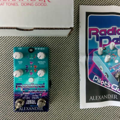 Alexander Pedals Radical Delay DX (w/Free Shipping) Authorized Dealer