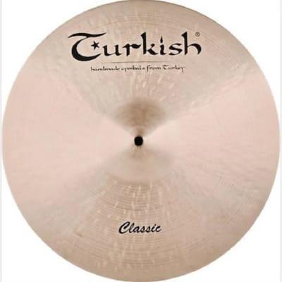 "Turkish Cymbals 20"" Classic Series Classic Ride C-R20"
