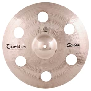 "Turkish Cymbals 16"" Effects Series Sirius Crash SS-C16"