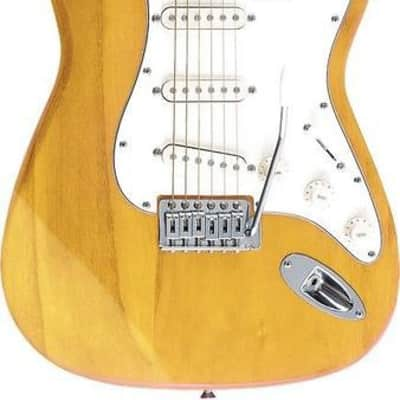 Oscar Schmidt by Washburn Double Cutaway Electric Guitar, Natural, OS-300 NH for sale