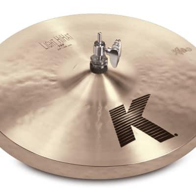 Zildjian 14 inch K Series Light HiHat Pair - K0812 - 642388297094