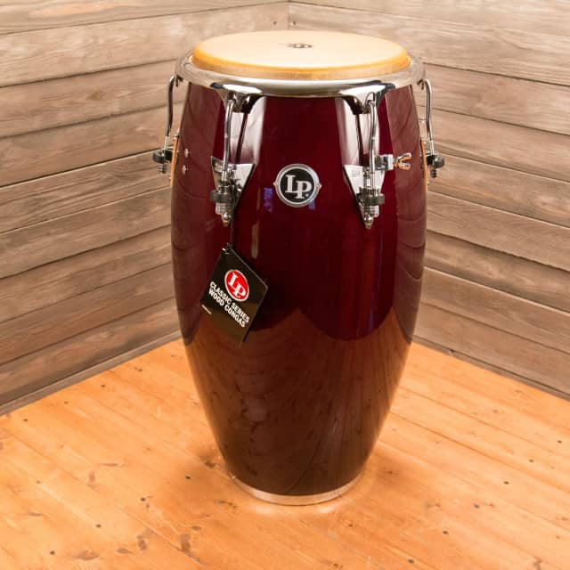 Latin Percussion Salsa Series 11 3/4 Inch Wine Red Conga image