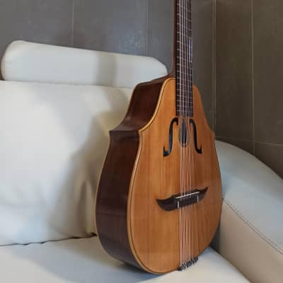 Salvador Ibáñez y Albiñana  1899. Old guitar. Laúd Bandurria for sale