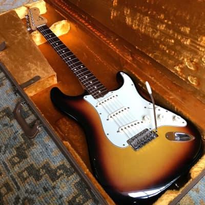 Fender Custom Shop Time Machine '60 Stratocaster NOS  2005 3 Tone Sunburst for sale