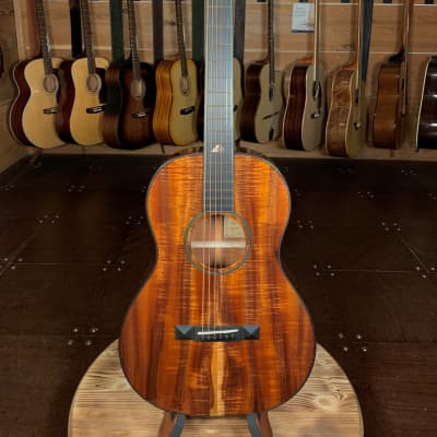 Bedell Limited Edition Pele Parlor / All Koa #8017 for sale