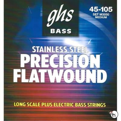 GHS Bass M3050 Flatwound 45-105