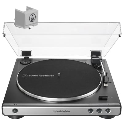 Audio Technica AT-LP60X Fully Automatic Belt-Drive Stereo Turntable - Gunmetal w/ATN3600L Stylus