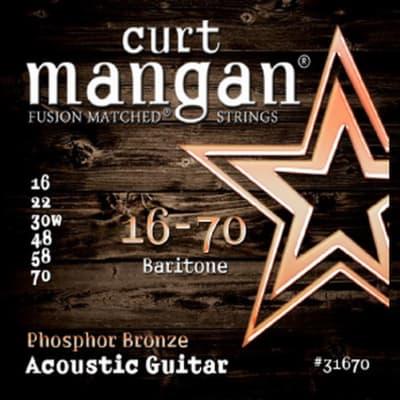 Curt Mangan Baritone Acoustic Guitar Strings