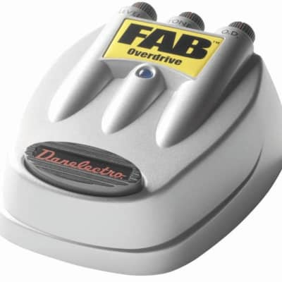 Danelectro D-2 Fab Overdrive Electric Guitar Effects Pedal