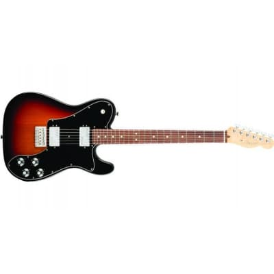 Fender American Professional Telecaster Deluxe ShawBucker 3 Tone Sunburst Rosewood for sale