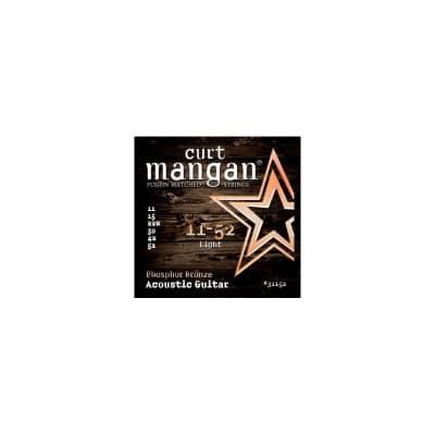 Curt Mangan Phosphor Bronze 11-52 Acoustic Strings