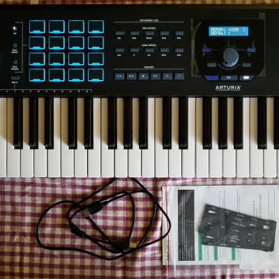 Arturia KeyLab 61 MkII MIDI Controller Black