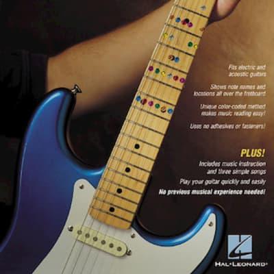 Don't Fret Note Map™ Revolutionary Guitar Finger Positioning Guide
