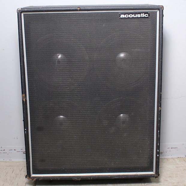 Vintage Acoustic 4x12 Bass Cabinet   Reverb