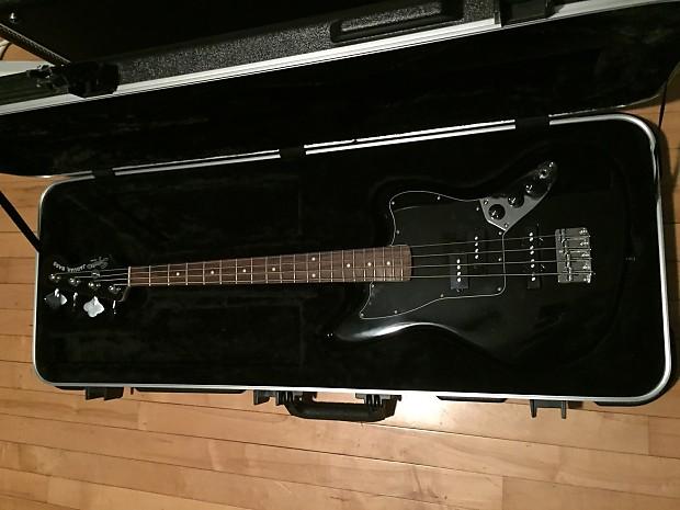 Squier Vintage Modified Jaguar Bass 2014 Black W Skb Case
