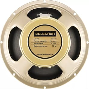 "Celestion G12H-75 Creamback 12""  75-Watt 16 Ohm Speaker"