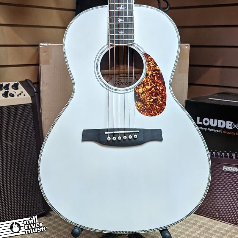 Paul Reed Smith PRS SE P20E Tonare Parlor Acoustic Electric Guitar Antique White