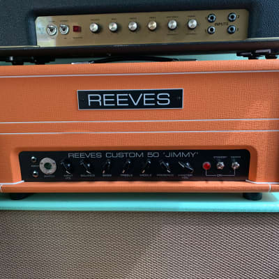 Reeves Custom Jimmy 50 Orange for sale