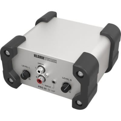 Klark Teknik DI 10P Klark Teknik Passive DI Box with Stereo Input / Summed Mono Output, MIDAS Transformer and Extended Dynamic Range