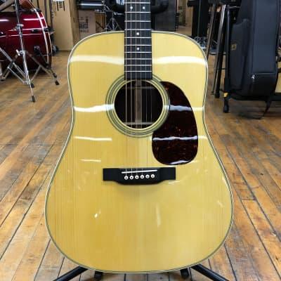 Martin Custom Shop D-28 Style Custom Adirondack Spruce/Rosewood Dreadnought Acoustic-Electric w/Case
