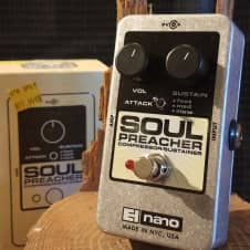Electro-Harmonix Soul Preacher Compressor / Sustain Pedal