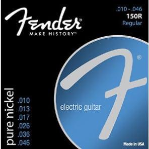 Fender Pure Nickel Regular Electric Guitar Strings 10-46 for sale