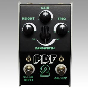 Stone Deaf FX PDF-2 Parametric Distortion