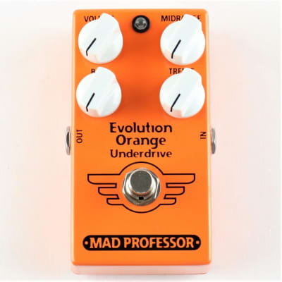 MAD PROFESSOR EVOLUTION ORANGE UNDERDRIVE for sale