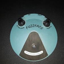 Dunlop JH-F1 Jimi Hendrix Fuzz Face Turquoise