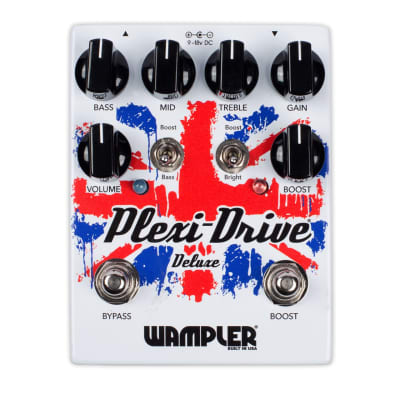 Wampler - Plexi Drive Deluxe Pedal