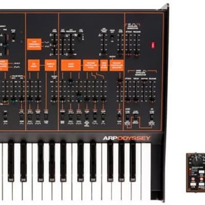 Korg Limited Edition ARP Odyssey FSQ Duophonic Synthesizer & SQ-1 Step Sequencer Bundle - Rev 3