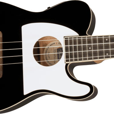 Fender Fullerton Telecaster Ukulele  Black  0971653006 on sale 20% off open box display