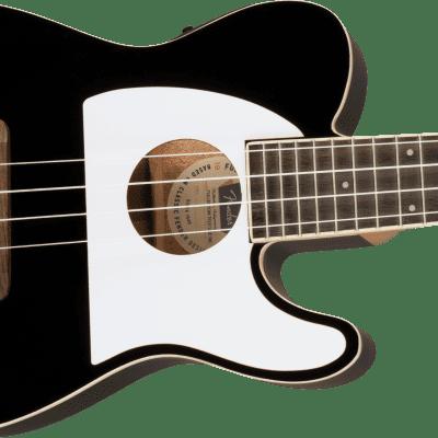 Fender Fullerton Telecaster Ukulele  Black  0971653006 on sale 20% off open box display