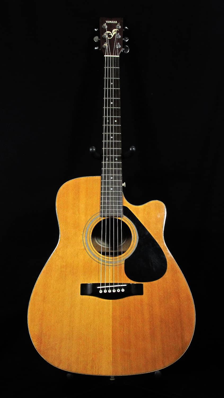 Used yamaha fg411c acoustic electric guitar reverb for Yamaha acoustic electric guitar