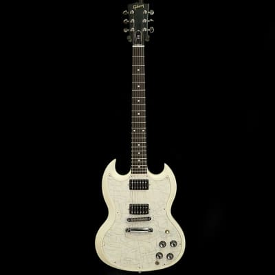 Gibson Guitar Of The Week #17 SG Special Satin Classic White with White Jazz Pickguard 2007