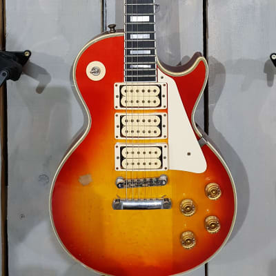 Gibson Custom Shop Ace Frehley Budokan 1974 Les Paul Custom Aged / Signed Cherry Sun for sale