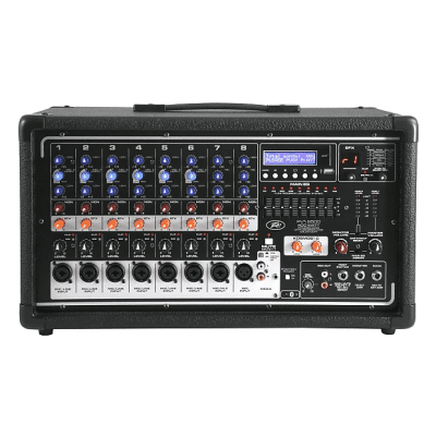 Peavey PVi 8500 400-Watt 8-Channel Powered Mixer Black