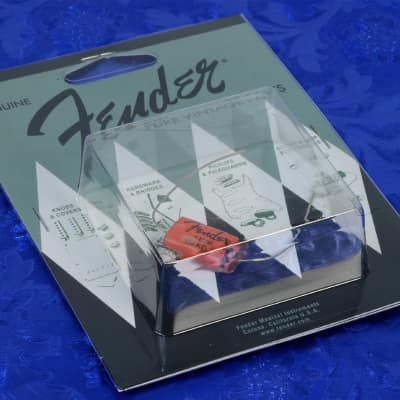 Genuine Fender Pure Vintage .1uF 150V Hot Rod Tone Capacitor 0094121049 image