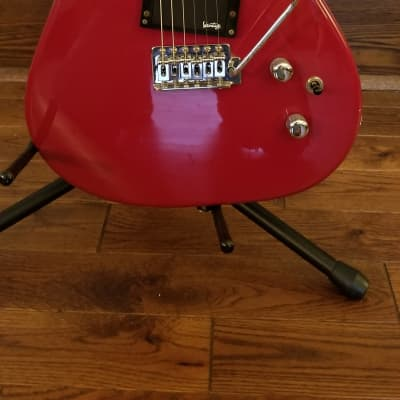 Vantage 111T 1990s Candy Apple Red Super Strat 24 Fret Monster Guitar Great Single Humbucker Tone for sale
