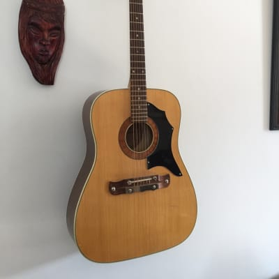 Klira JONNY Dreadnought acoustic 1960's Natural for sale